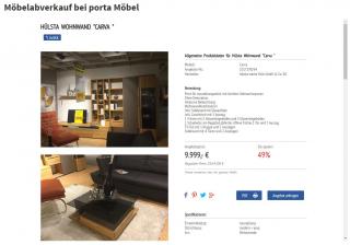Porta Möbel Nutzt Das Abverkaufstool Der Trendview Trendview
