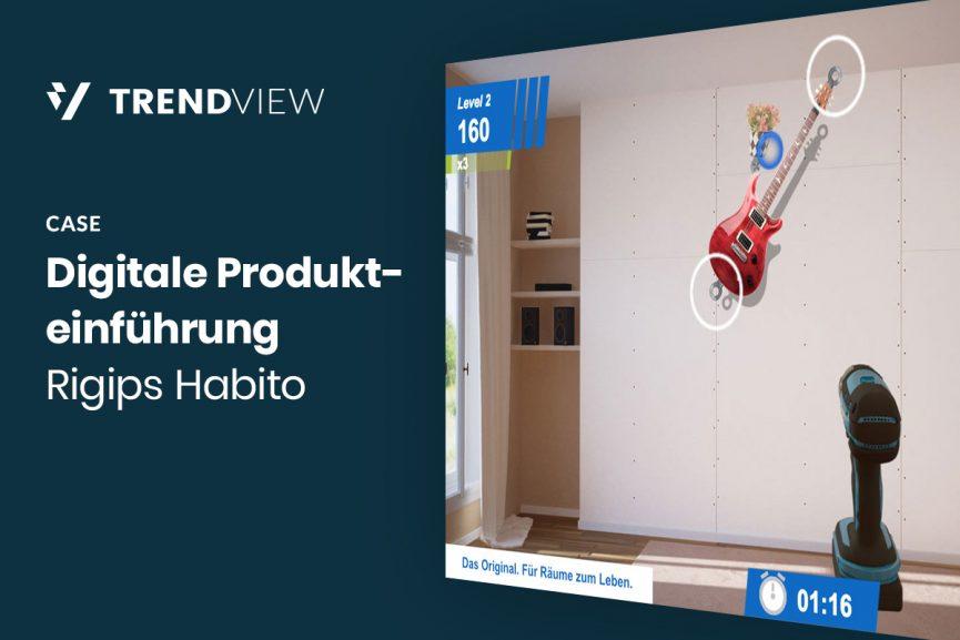 Digitale Produkteinführung – Rigips Habito