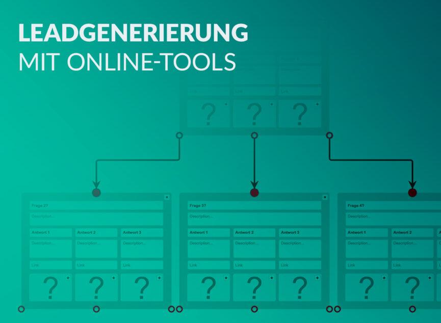 Kontaktqualifizierung mit Online-Tools