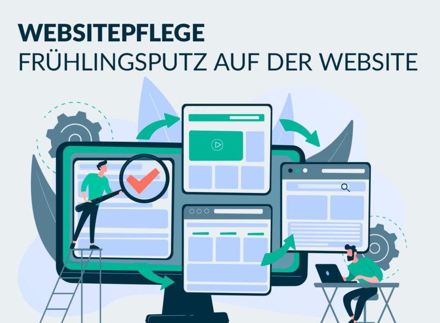 Trendsbeitrag Frühlingsputz auf Websites TrendView GmbH