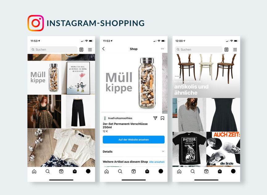 Instagram Shopping einfach und ausführlich von der TrendView erklärt